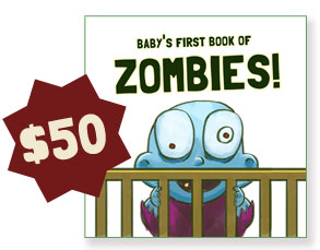 Baby's First Book of Zombies